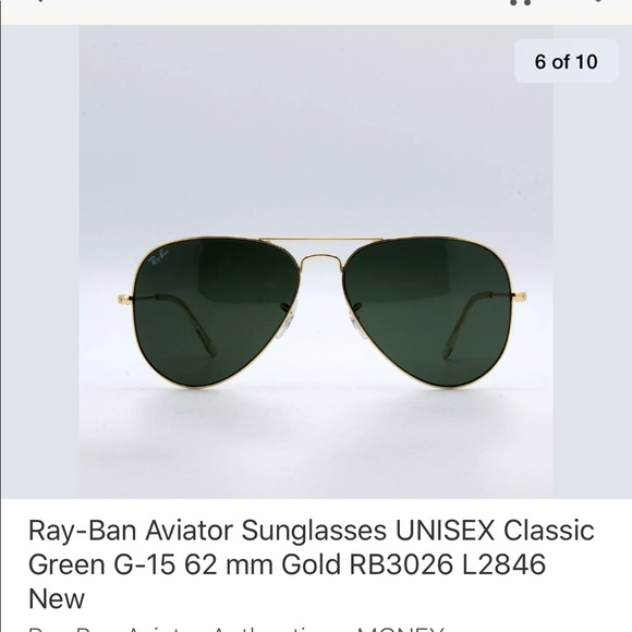 402fc6af993df0 Ray-Ban Other   For Reference   Poshmark